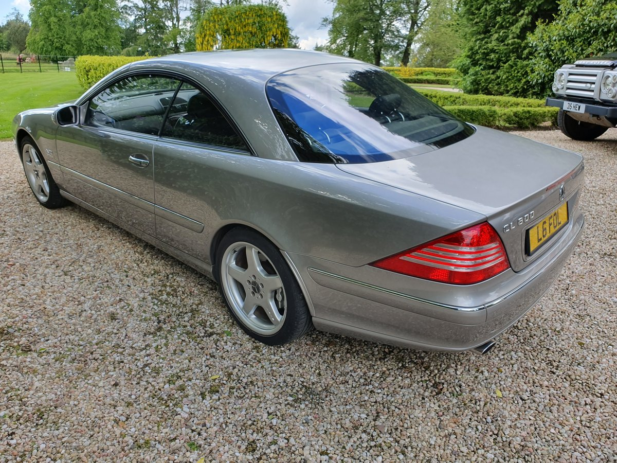 Mercedes CL600 V12 Bi Turbo, 2004,3 Previous Owner For Sale (picture 4 of 6)