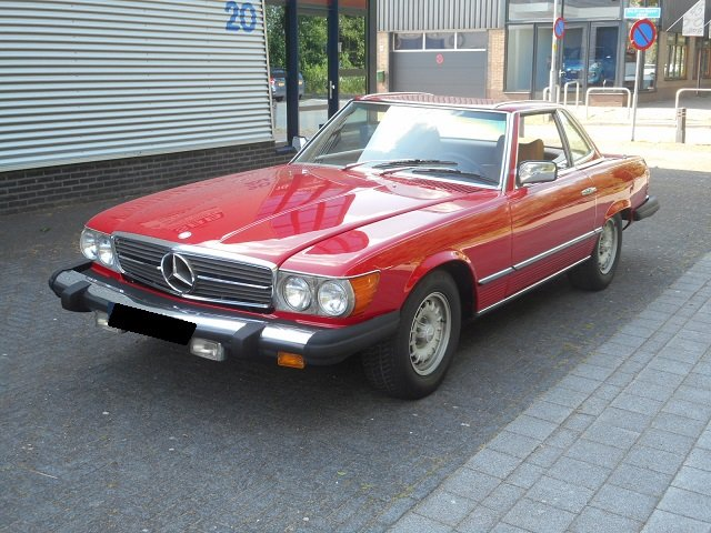 1977 MERCEDES 450 SL For Sale (picture 1 of 6)