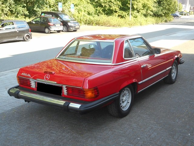 1977 MERCEDES 450 SL For Sale (picture 2 of 6)