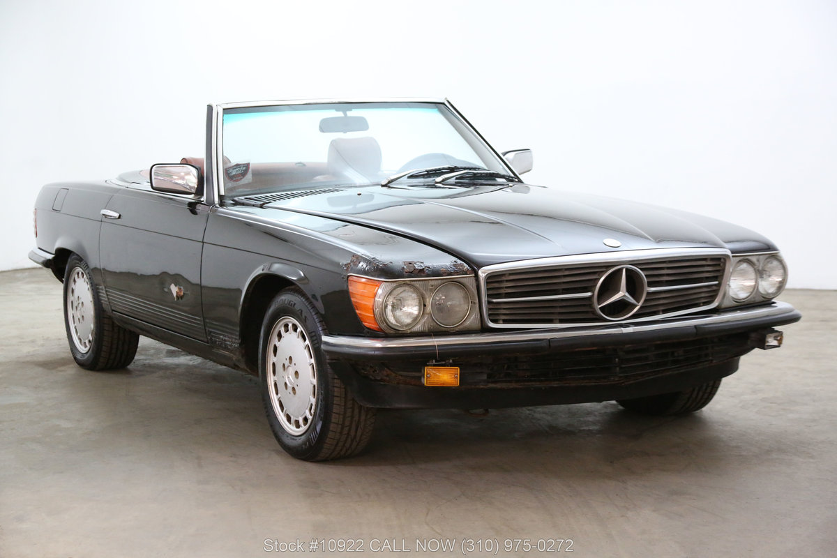 1981 Mercedes-Benz 280SL 4 Speed Manual For Sale (picture 1 of 6)