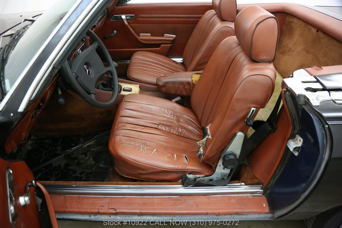 1981 Mercedes-Benz 280SL 4 Speed Manual For Sale (picture 4 of 6)