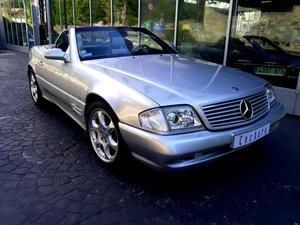 2002 Mercedes 500SL Silver Arrow R129 For Sale