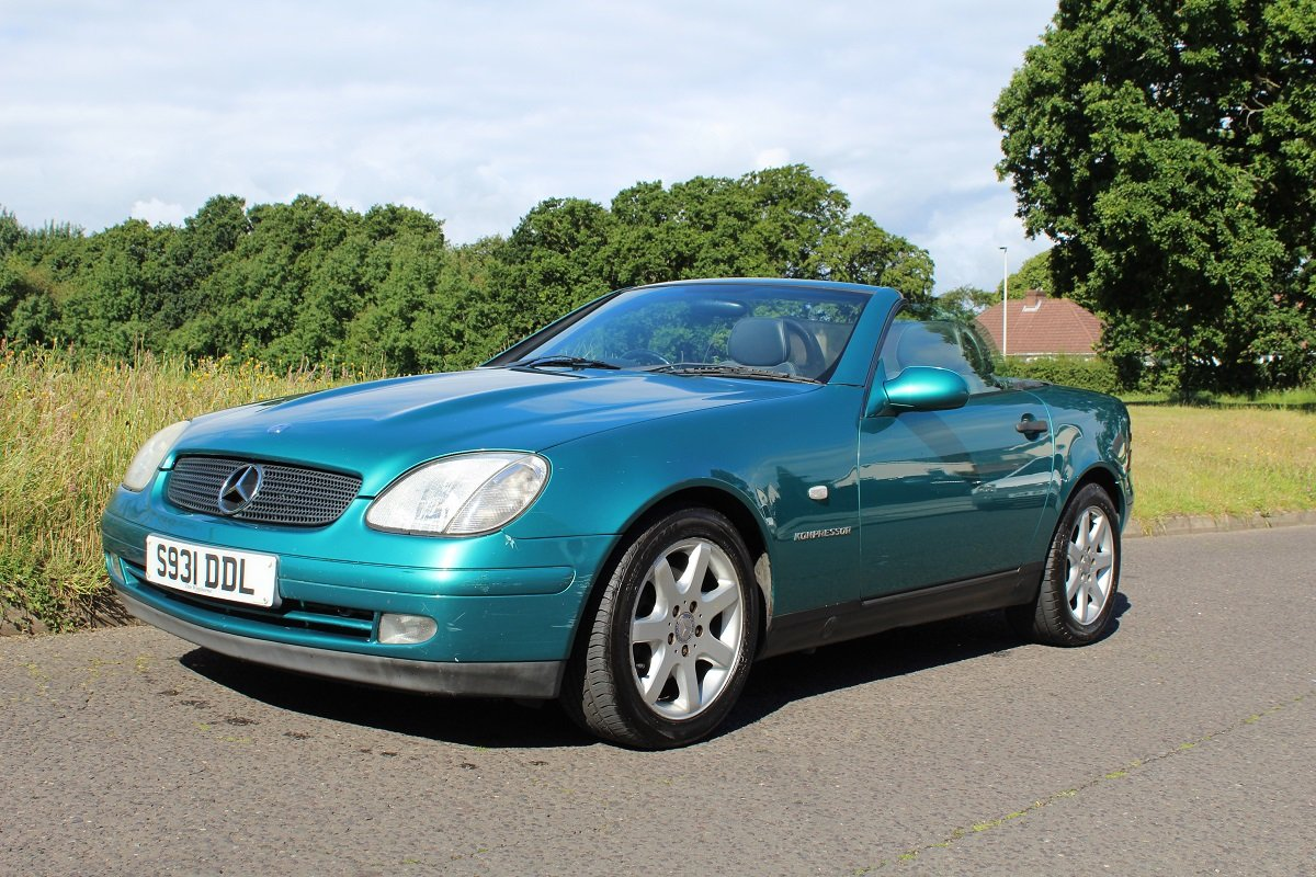 Mercedes SLK 230 1998 - To be auctioned 26-7-2019 For Sale by Auction (picture 1 of 6)