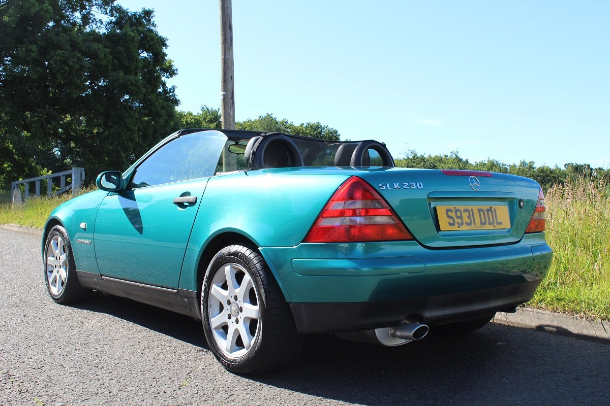 Mercedes SLK 230 1998 - To be auctioned 26-7-2019 For Sale by Auction (picture 2 of 6)