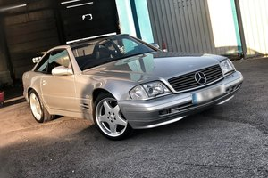 1998 Mercedes SL320 with FSH + Panoramic Roof SOLD