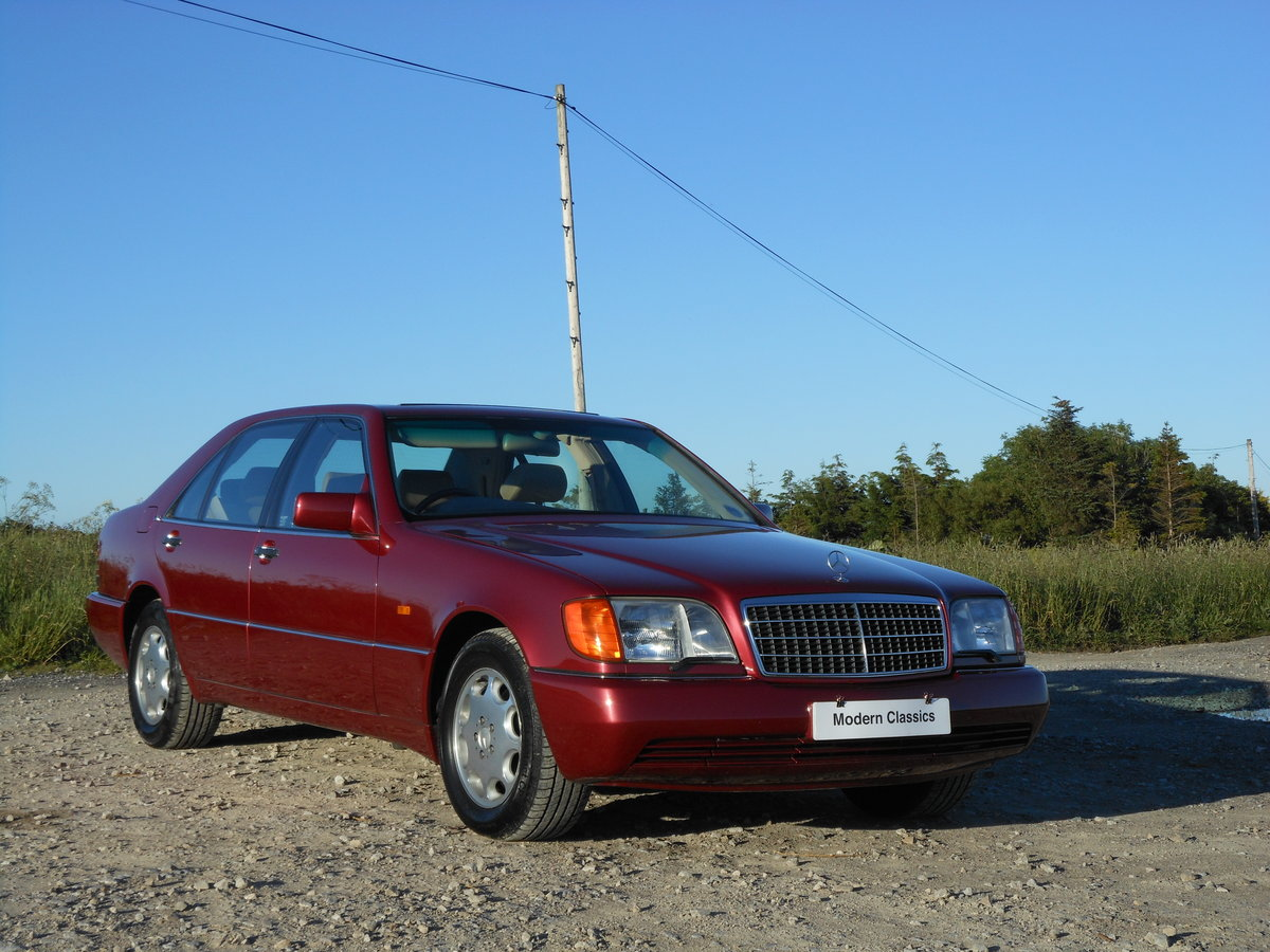 1992 !992 Mercdes S600 600SEL W140 V12 Auto 66,700Miles For Sale (picture 1 of 6)