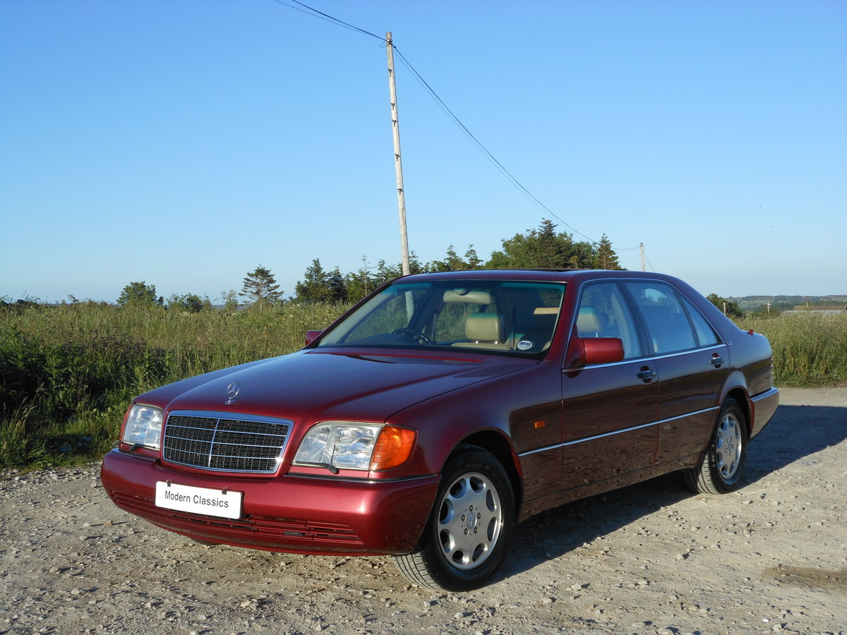 1992 !992 Mercdes S600 600SEL W140 V12 Auto 66,700Miles For Sale (picture 4 of 6)