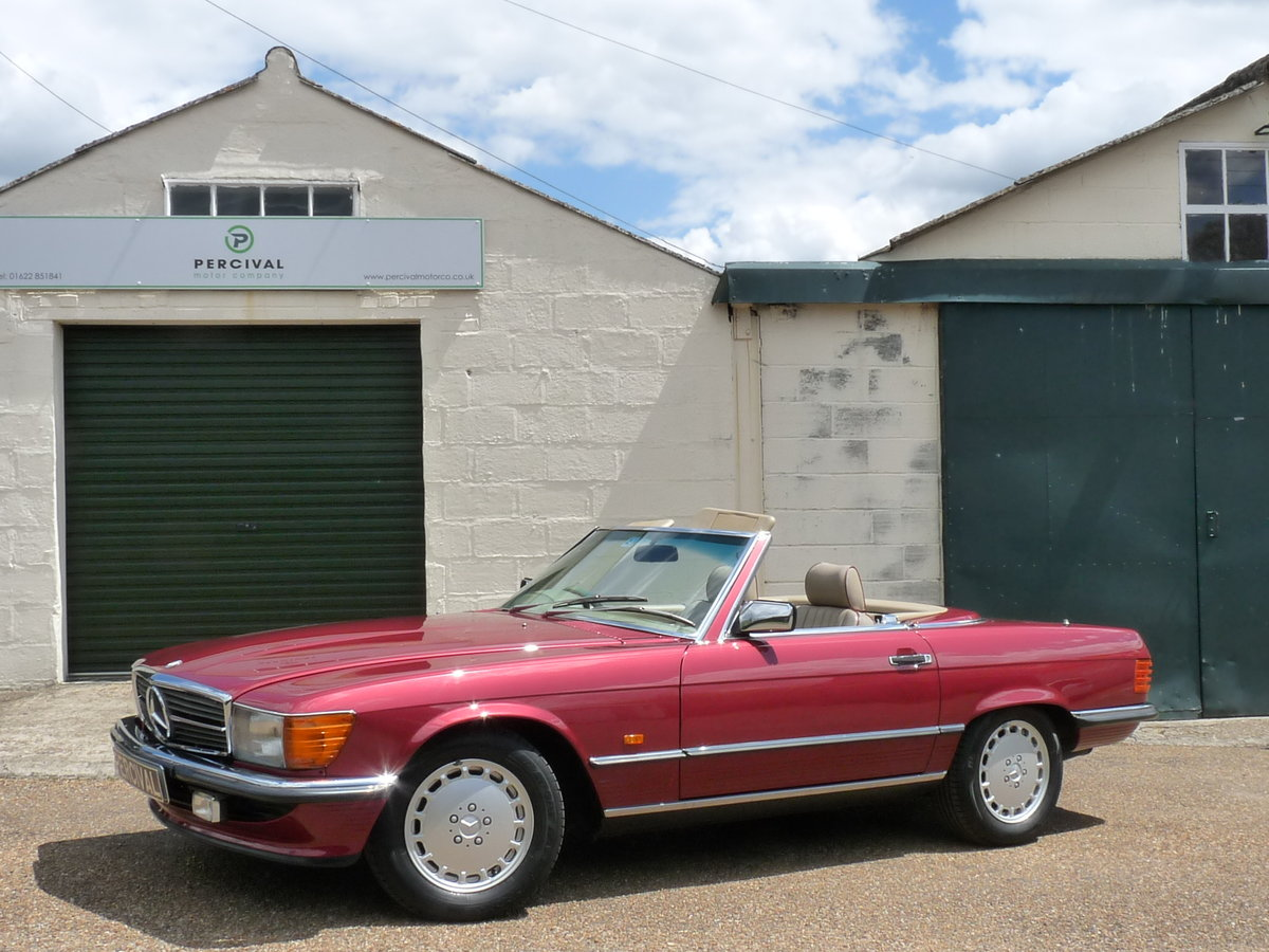 1989 Mercedes 300 SL 107, last of the model For Sale (picture 1 of 6)