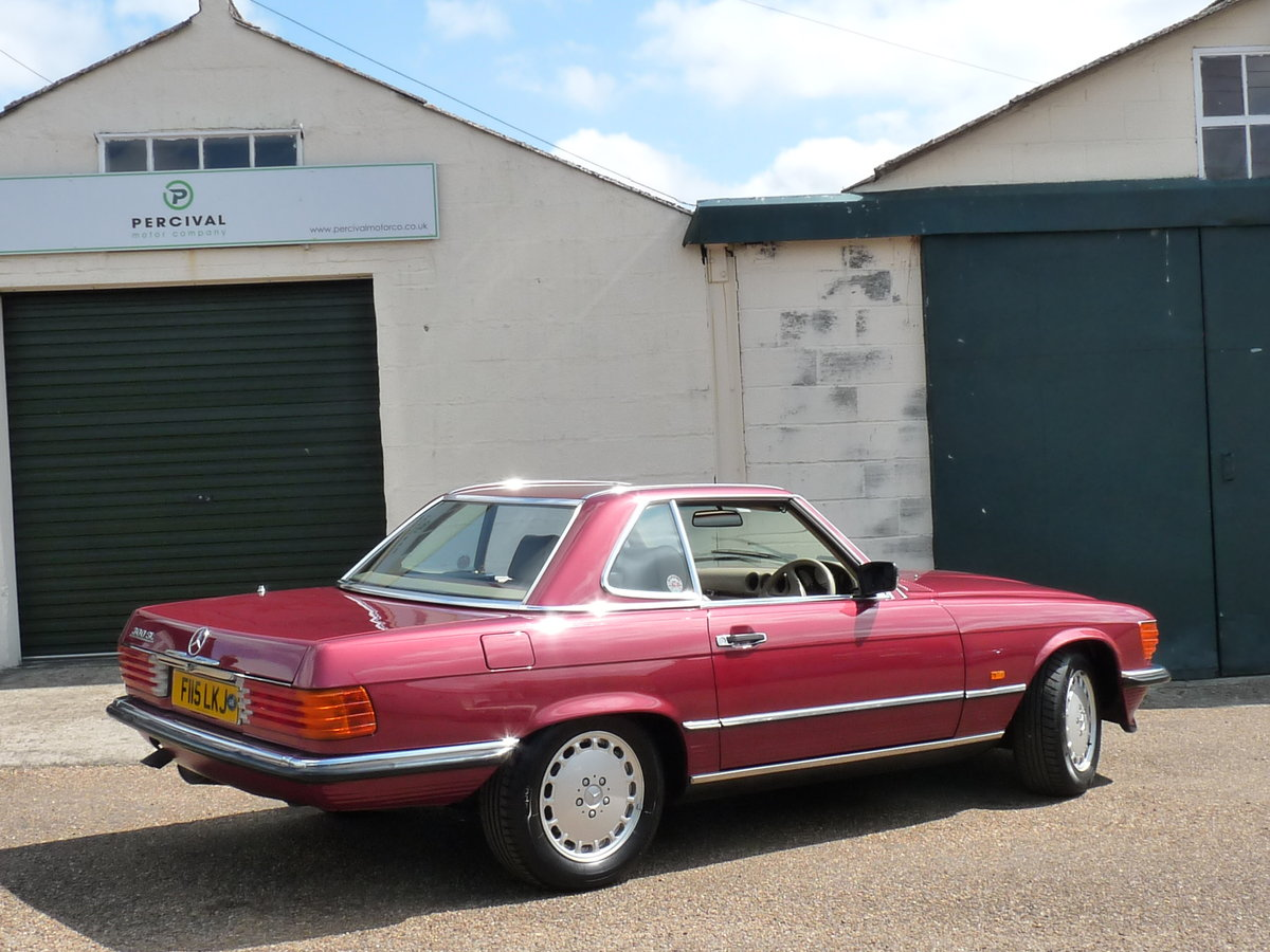 1989 Mercedes 300 SL 107, last of the model For Sale (picture 2 of 6)