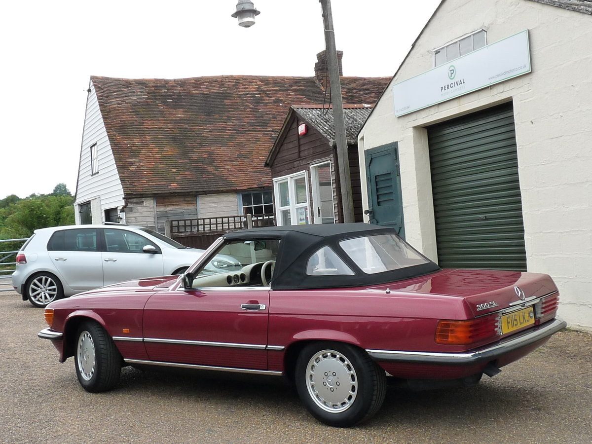 1989 Mercedes 300 SL 107, last of the model For Sale (picture 5 of 6)