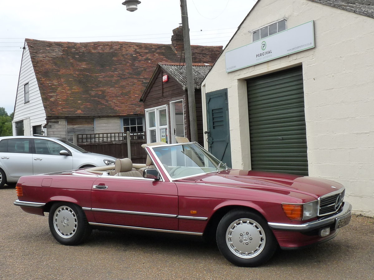 1989 Mercedes 300 SL 107, last of the model For Sale (picture 6 of 6)