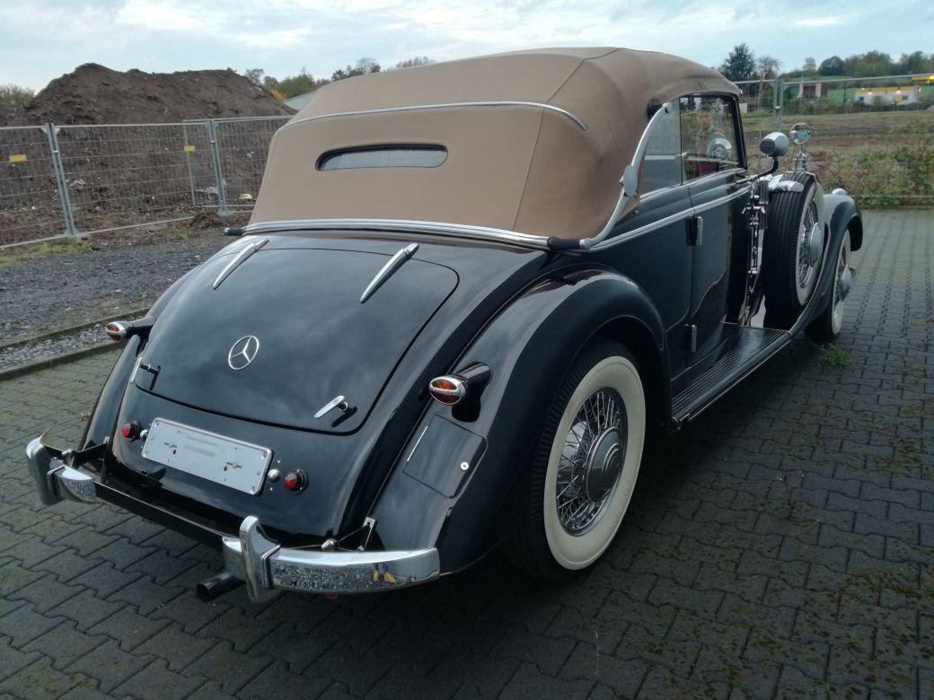 1939 Mercedes Benz 320 cabrio B For Sale (picture 1 of 6)