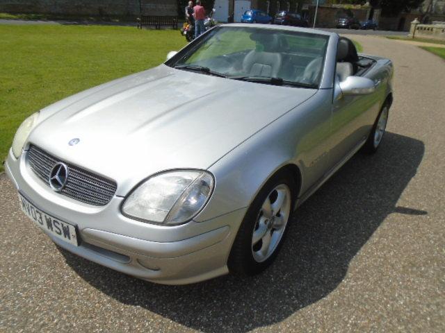 2003 Mercedes SLK 200 Kompressor, folding hard top.  For Sale (picture 2 of 6)