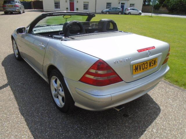 2003 Mercedes SLK 200 Kompressor, folding hard top.  For Sale (picture 4 of 6)