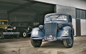 1937 Mercedes-Benz V170 - military type  - restored