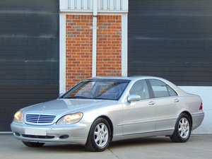 1999 Mercedes S430 4.3 Auto.. 1 Owner.. Low Miles.. FSH.. For Sale