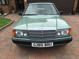 1989 Stunning low mileage 190E SOLD