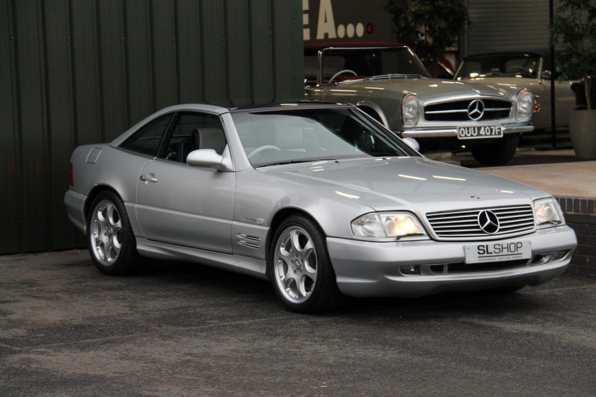 2001 MERCEDES-BENZ SL500  SILVER ARROW REDUCED TO SELL SOLD (picture 1 of 6)