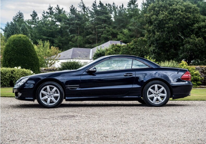 2003 Mercedes SL500 For Sale (picture 1 of 6)
