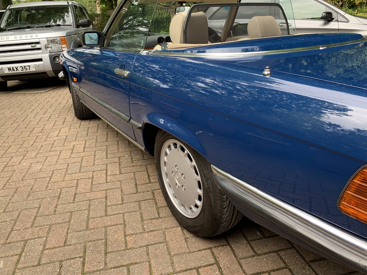 1987 Fantastic Mercedes 420SL - Low Miles  For Sale (picture 3 of 6)