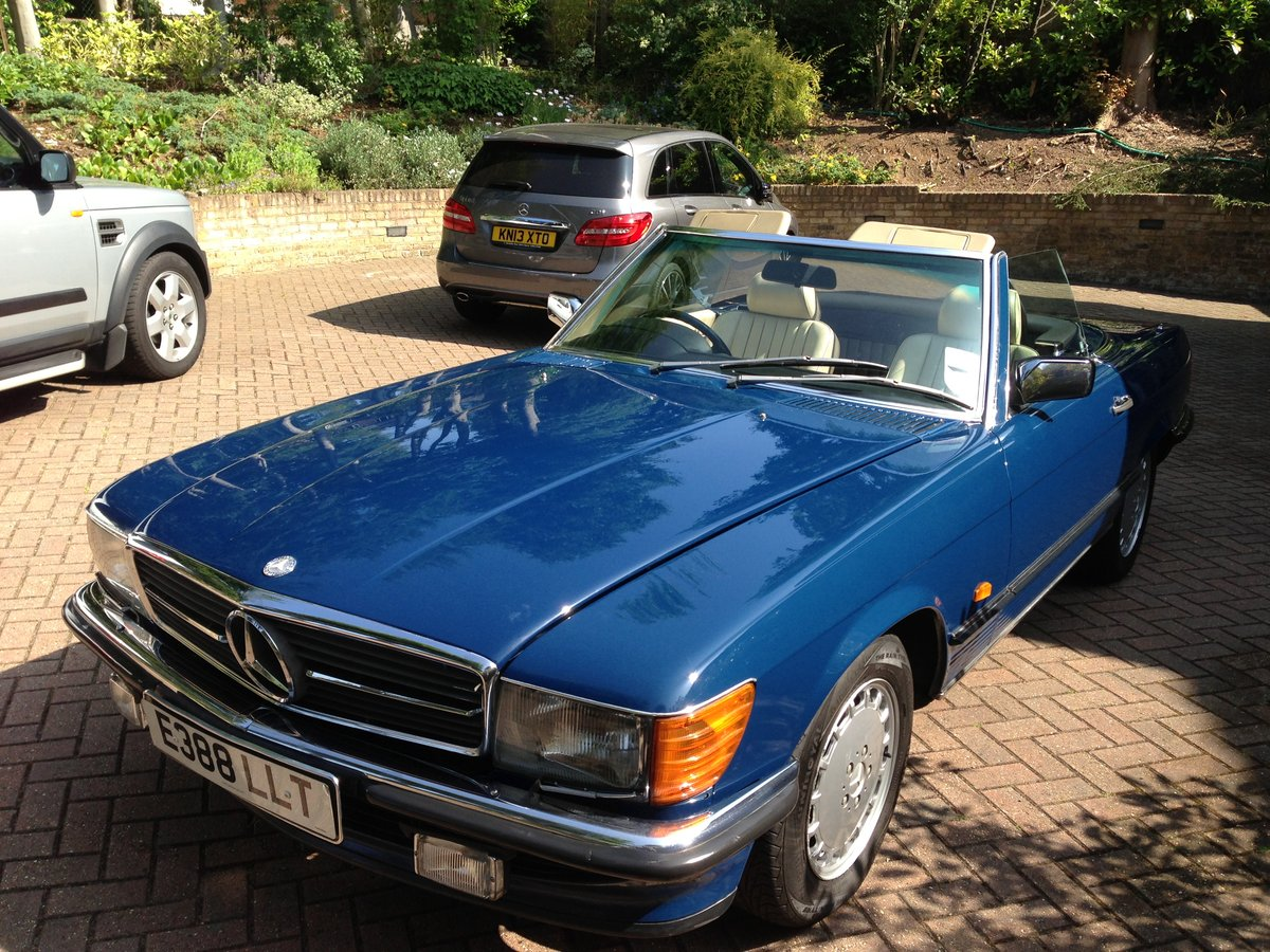 1987 Fantastic Mercedes 420SL - Low Miles  For Sale (picture 6 of 6)