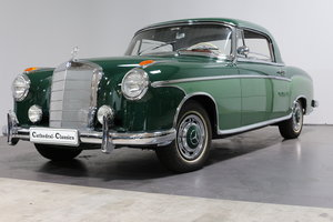 1959 The best Mercedes 220 SE Coupe (W128) Ponton available? For Sale