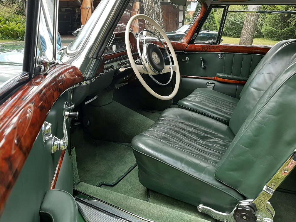 1959 The best Mercedes 220 SE Coupe (W128) Ponton available? For Sale (picture 2 of 6)