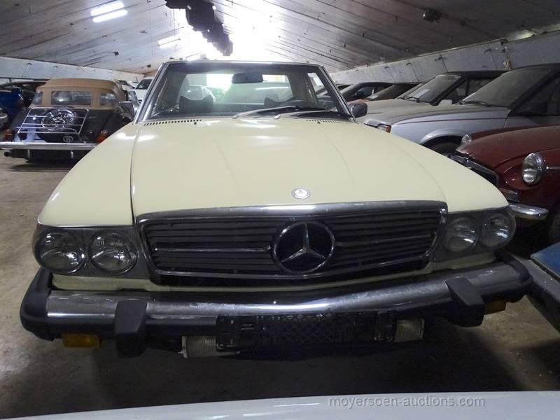 1976 MERCEDES-BENZ 450SL (W107)  For Sale by Auction (picture 1 of 6)