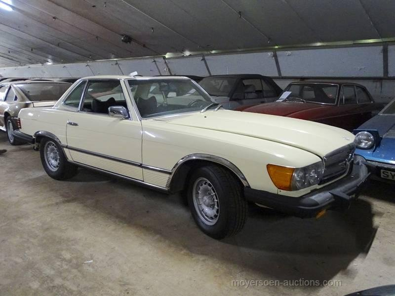 1976 MERCEDES-BENZ 450SL (W107)  For Sale by Auction (picture 3 of 6)