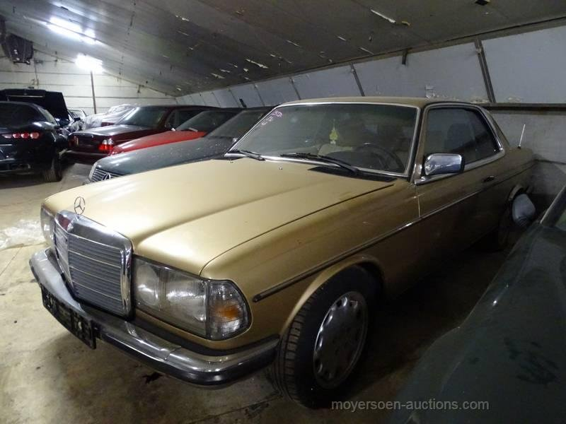 1985 MERCEDES-BENZ 230E Coupé For Sale by Auction (picture 3 of 6)