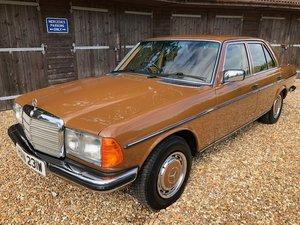 1980 Mercedes 280E ( 123-series )  For Sale