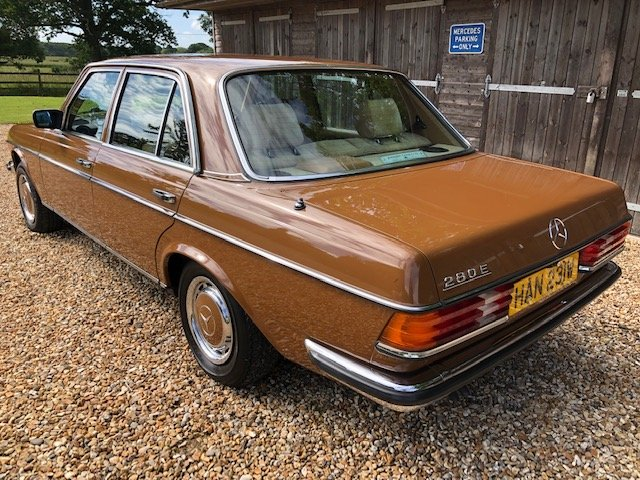 1980 Mercedes 280E ( 123-series )  For Sale (picture 3 of 6)