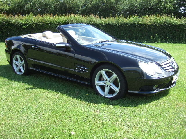 2005 Mercedes SL500 Convertible only 51500 miles For Sale (picture 1 of 6)