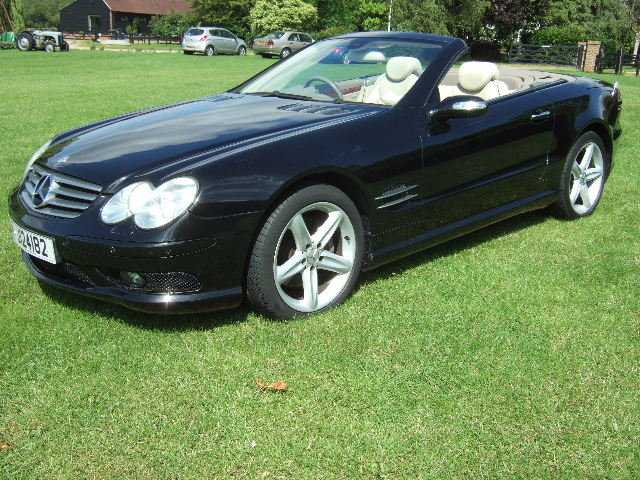 2005 Mercedes SL500 Convertible only 51500 miles For Sale (picture 2 of 6)