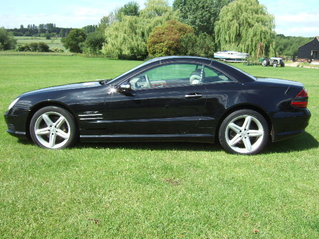2005 Mercedes SL500 Convertible only 51500 miles For Sale (picture 3 of 6)