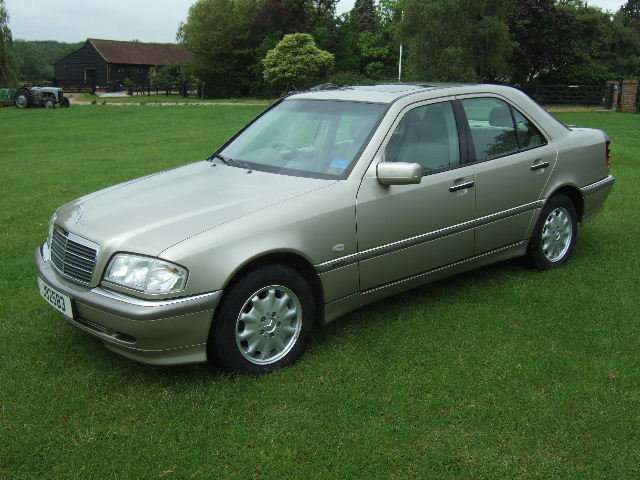 1998 Mercedes C240 Elegance genuine 4360 miles from new For Sale (picture 1 of 6)