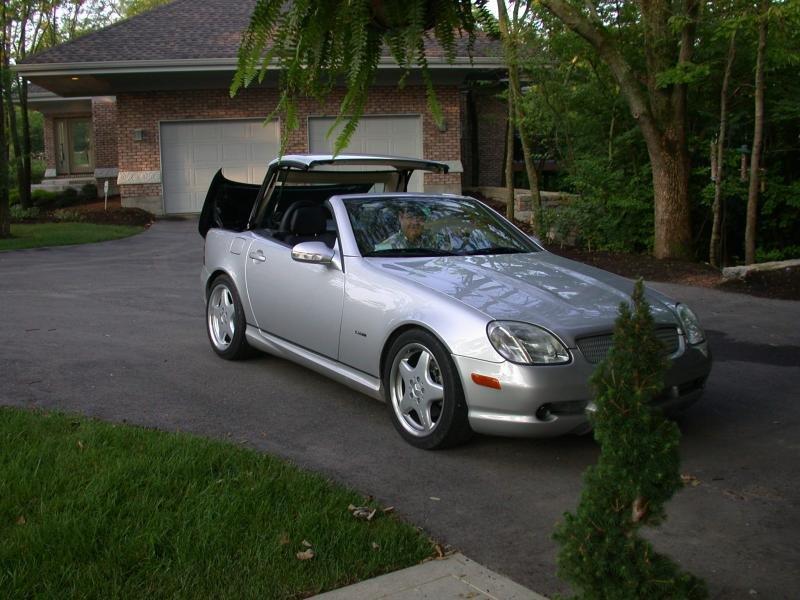 2004 MERCEDES AMG PACK SLK 320 SILVER NEW MOT For Sale (picture 5 of 6)