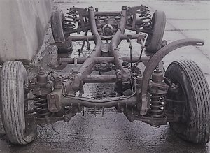 1952 Mercedes 220 Rolling Chassis For Sale