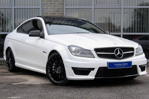 2013 63 MERCEDES BENZ C63 AMG COUPE AUTO For Sale