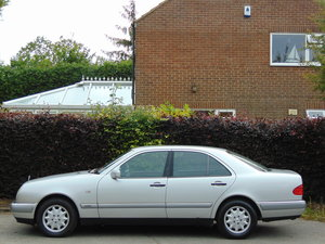Mercedes E240 Elegance Auto.. Very Low Miles.. FSH.. For Sale