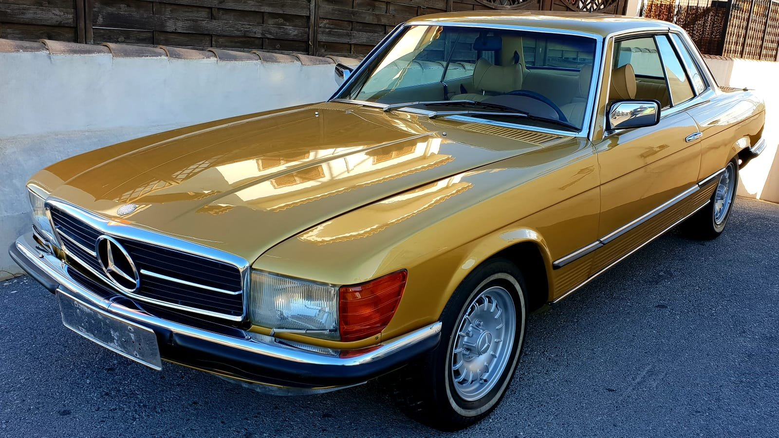 1976 Mercedes 450SLC R 107 For Sale (picture 1 of 6)