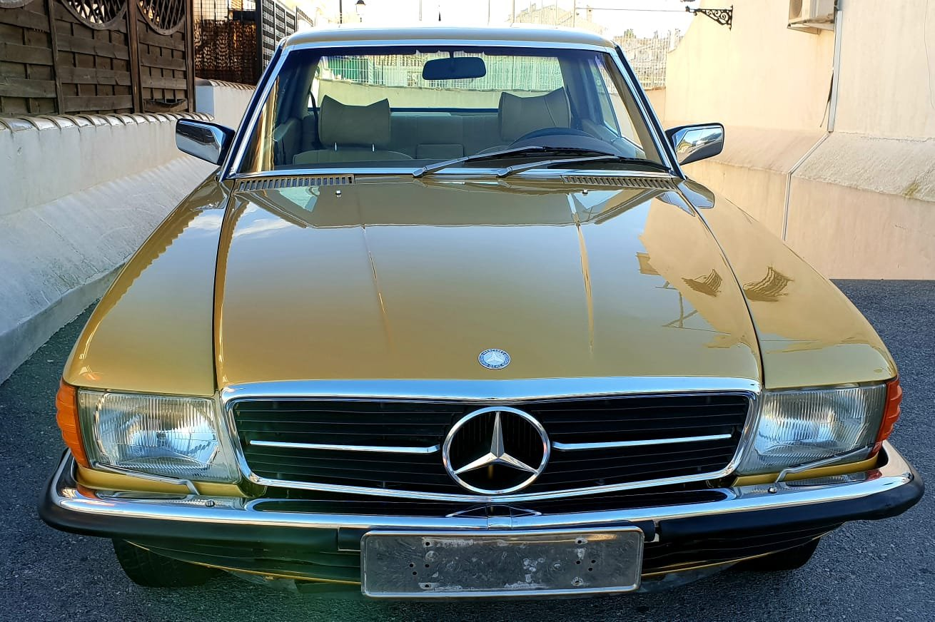 1976 Mercedes 450SLC R 107 For Sale (picture 2 of 6)