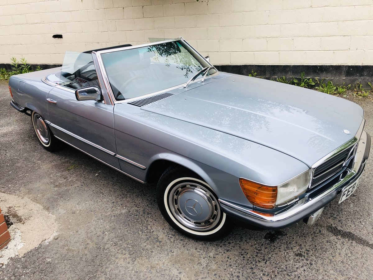1980 Classic Mercedes 380 SL R107 V8 SL380 Convertible For Sale (picture 1 of 6)