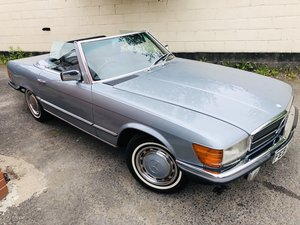 1980 Classic Mercedes 380 SL R107 V8 SL380 Convertible For Sale