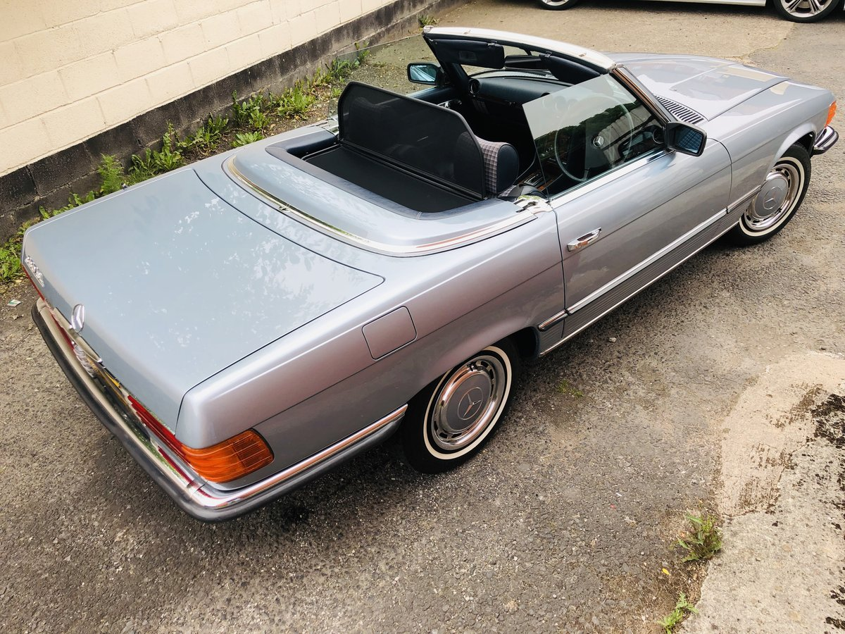 1980 Classic Mercedes 380 SL R107 V8 SL380 Convertible For Sale (picture 2 of 6)