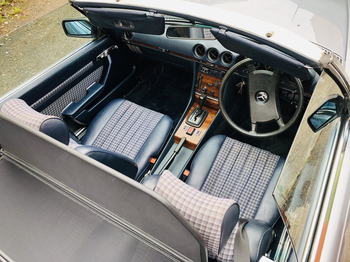 1980 Classic Mercedes 380 SL R107 V8 SL380 Convertible For Sale (picture 3 of 6)