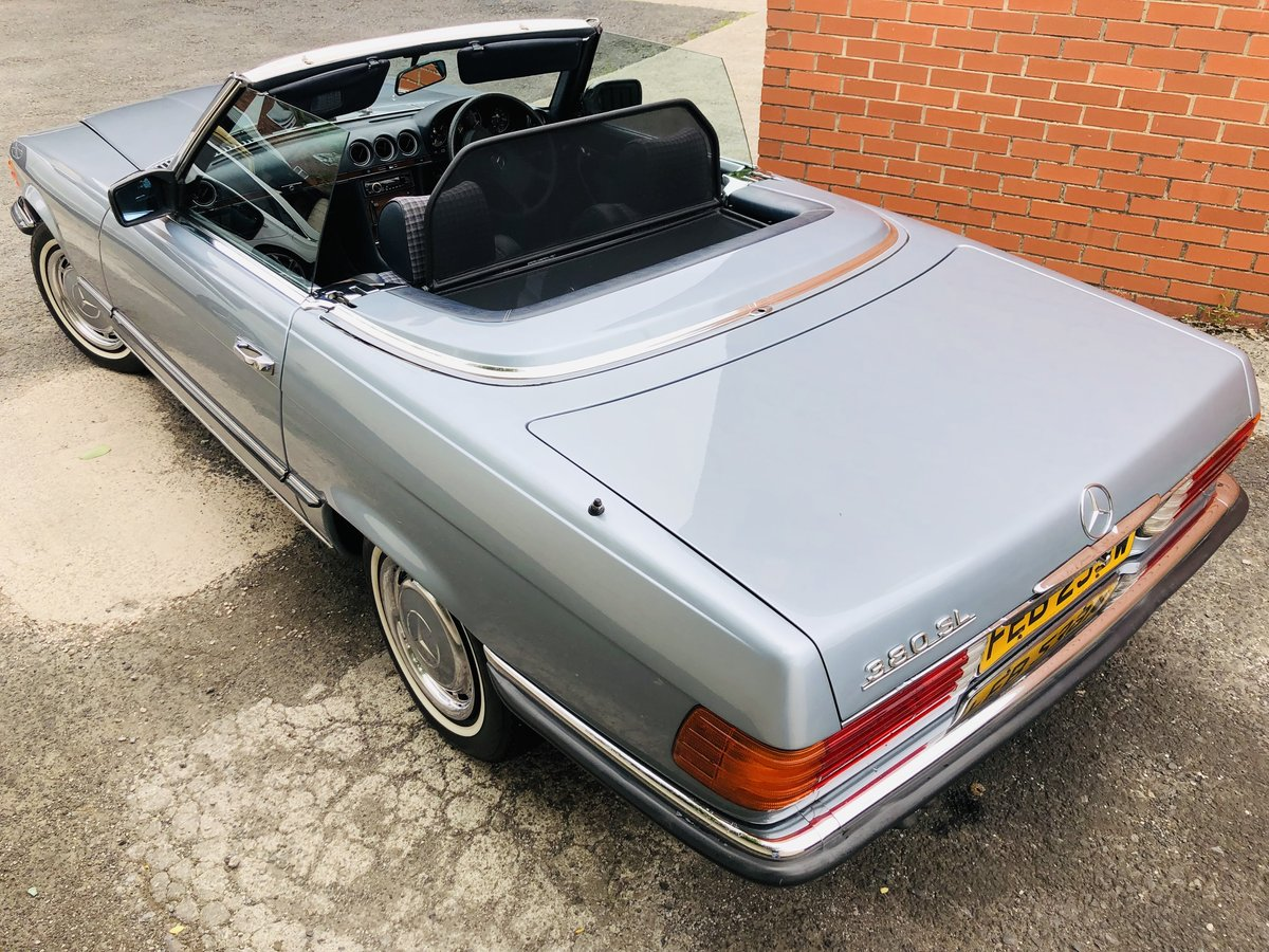1980 Classic Mercedes 380 SL R107 V8 SL380 Convertible For Sale (picture 5 of 6)