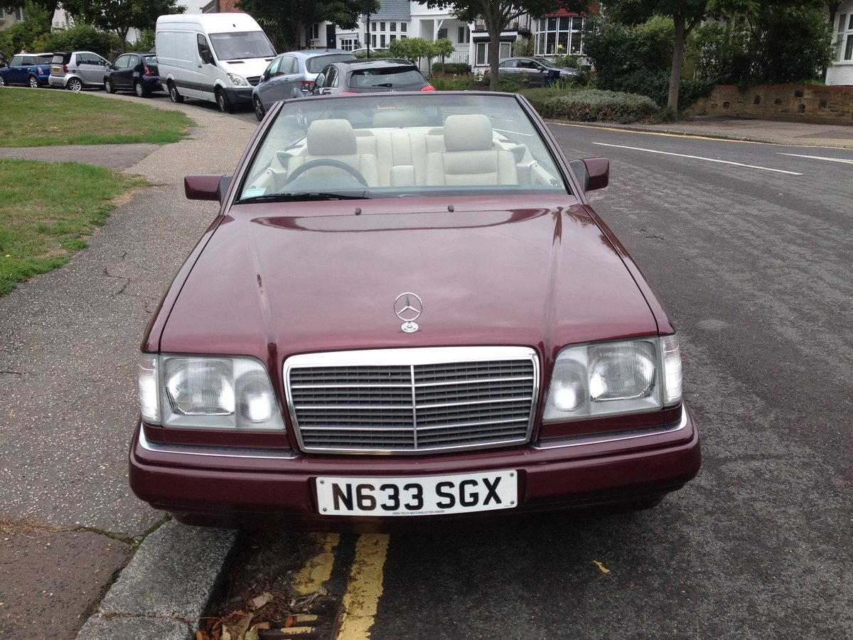 1996 Mercedes e220 cabriolet,full history ,all the mots SOLD (picture 6 of 6)