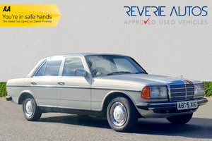 1984 Mercedes Benz 230 E - One Owner, Full History For Sale