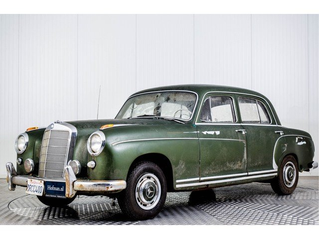 1960 Mercedes 220 S Ponton Barnfind For Sale (picture 1 of 6)